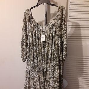 Cato Plus Dress /GRAPHIC PRINT